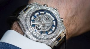 expensive diamond watch