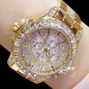 womens diamond gold watch