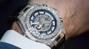 expensive diamond watch